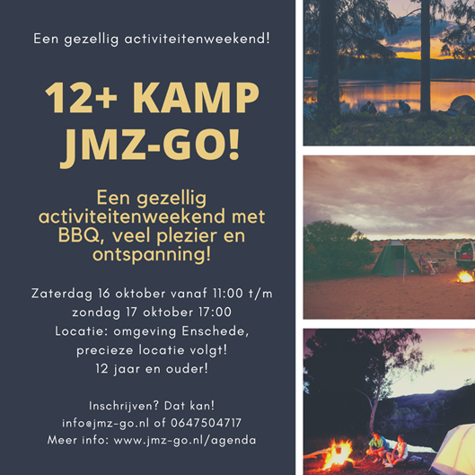 12+ kamp JMZ Go!