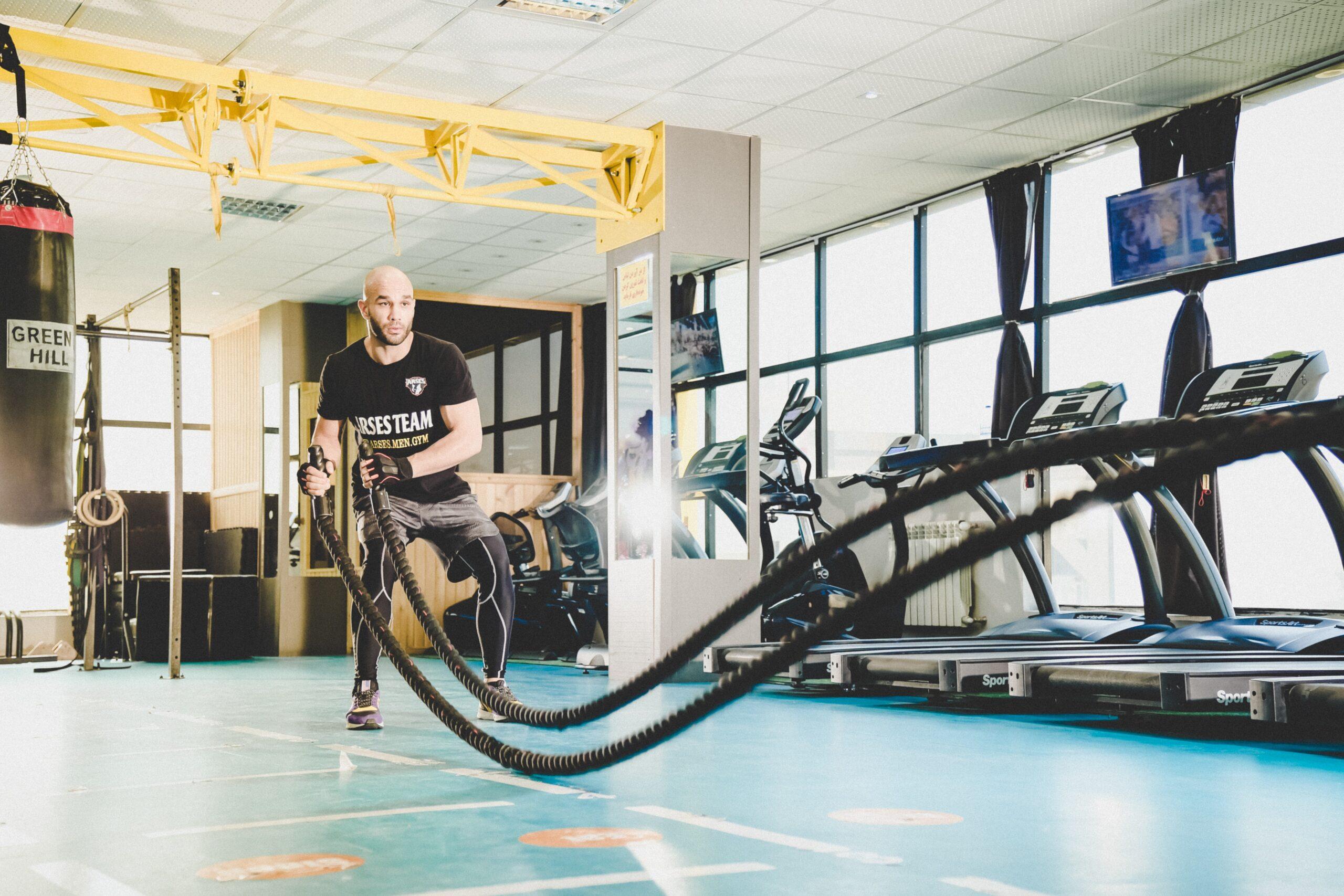 Gratis fitnessen voor jongeren