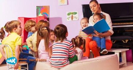 Voorlezen en muziek maken voor de allerjongsten (kinderen 2 – 6 met ouders)